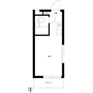 杉並區和泉-1R公寓大廈 房間格局