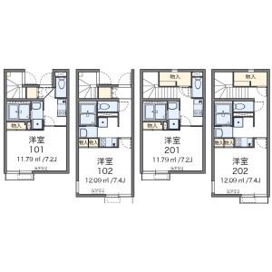1K Apartment in Zoshigaya - Toshima-ku Floorplan
