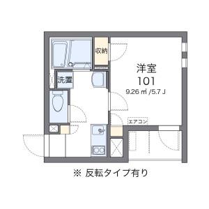 1K Mansion in Oyama kanaicho - Itabashi-ku Floorplan