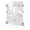 1SLDK Apartment to Buy in Minato-ku Floorplan