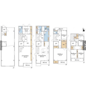 6LDK {building type} in Yushima - Bunkyo-ku Floorplan