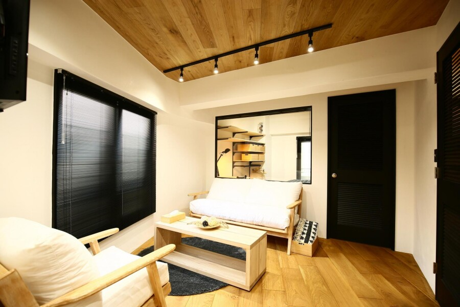 2LDK Serviced Apartment to Rent in Minato-ku Interior