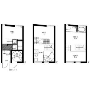 4K Mansion in Minamidai - Nakano-ku Floorplan