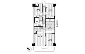 4LDK Apartment in Hamaderaishizuchohigashi - Sakai-shi Nishi-ku