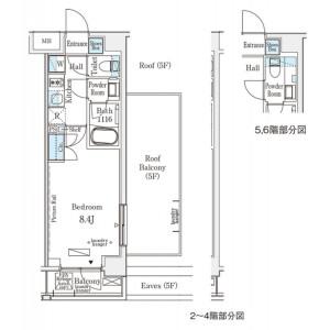 1K Mansion in Nozawa - Setagaya-ku Floorplan