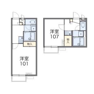 1K Apartment in Mita - Kawasaki-shi Tama-ku Floorplan