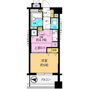 1DK Mansion in Seta - Setagaya-ku Floorplan