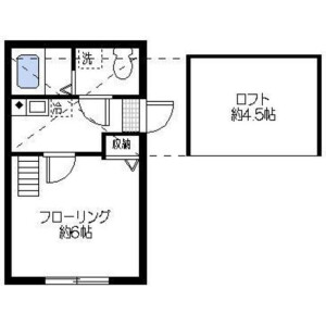 1K Mansion in Namamugi - Yokohama-shi Tsurumi-ku Floorplan