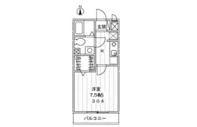 大田区 南蒲田 1K マンション