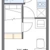 1K Apartment to Rent in Yokohama-shi Kohoku-ku Floorplan