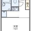 1K Apartment to Rent in Yokohama-shi Kohoku-ku Floorplan