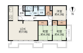 3SLDK {building type} in Motomachi - Osaka-shi Naniwa-ku