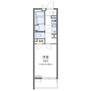 1K Mansion in Nishiterao - Yokohama-shi Kanagawa-ku Floorplan