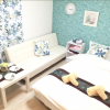 在大阪市中央区内租赁1K 公寓 的 卧室