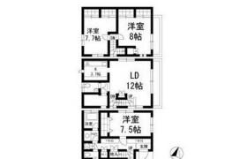 3SLDK Mansion in Higashigaoka - Meguro-ku