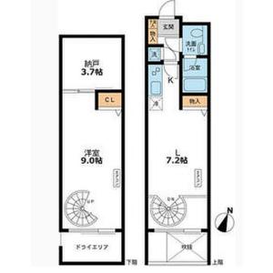 1SDK Mansion in Meguro - Meguro-ku Floorplan