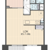 1LDK Apartment to Buy in Kyoto-shi Nakagyo-ku Floorplan