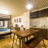 在大阪市浪速區內租賃1R 服務式公寓 的房產 臥室