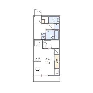1K Mansion in Tsuboya - Naha-shi Floorplan
