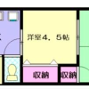 2DK Apartment to Rent in Ome-shi Floorplan
