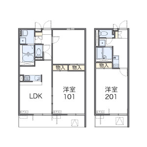 1K Mansion in Shimoniikura - Wako-shi Floorplan
