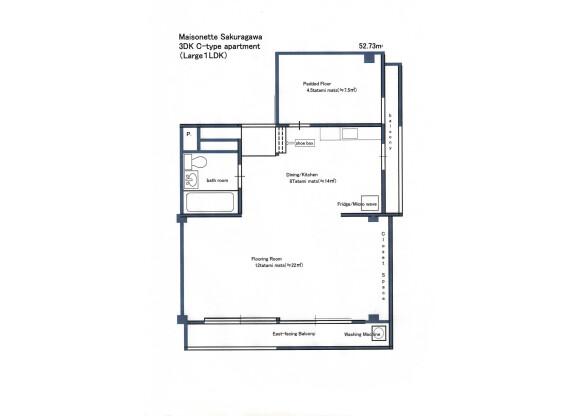 在板橋區內租賃1LDK 公寓大廈 的房產 房間格局