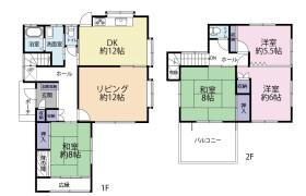 5LDK House in Ebaradai - Sakura-shi