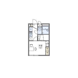 1K Apartment in Shimoiidacho - Yokohama-shi Izumi-ku Floorplan