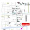 1LDK Apartment to Rent in Koto-ku Map