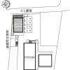 在小金井市內租賃1K 公寓 的房產 Layout Drawing