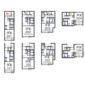 1K Apartment in Akabane - Kita-ku Floorplan