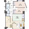 在大阪市東成区购买2SLDK 公寓大厦的 内部