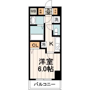 1K Mansion in Edagawa - Koto-ku Floorplan