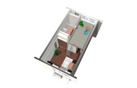 府中市武蔵台-1K公寓大廈
