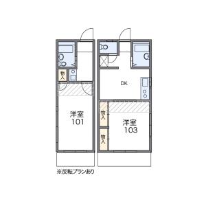 1K Apartment in Sengoku - Bunkyo-ku Floorplan