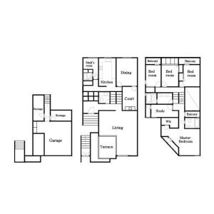 5LDK House in Oyamacho - Shibuya-ku Floorplan