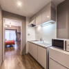 1R Serviced Apartment to Rent in Osaka-shi Yodogawa-ku Kitchen