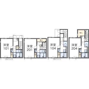 1K Apartment in Haruoka - Nagoya-shi Chikusa-ku Floorplan