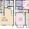 3LDK Terrace house to Rent in Suginami-ku Floorplan