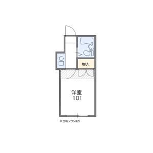 1K Apartment in Daita - Setagaya-ku Floorplan