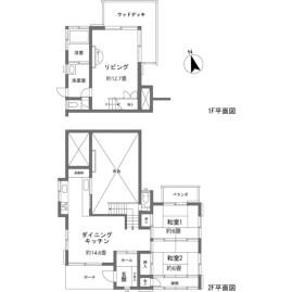 2LDK {building type} in Ashinoyu - Ashigarashimo-gun Hakone-machi Floorplan