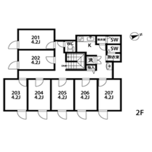255【OizumigakuenⅣ】KABOCHA NO BASHA - Guest House in Nerima-ku Floorplan