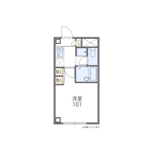 1K Mansion in Misuji - Taito-ku Floorplan