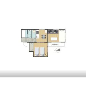 2DK Mansion in Hamamatsucho - Minato-ku Floorplan