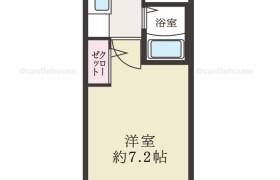 福岡市博多区 堅粕 1K {building type}