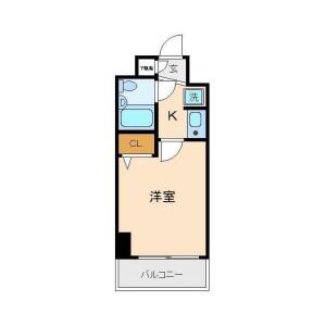 1K {building type} in Sakuragaoka - Yokohama-shi Hodogaya-ku Floorplan