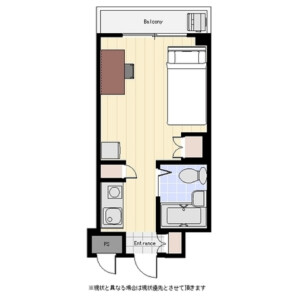 1R Mansion in Wada - Suginami-ku Floorplan