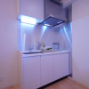 在涩谷区购买1R 公寓大厦的 厨房