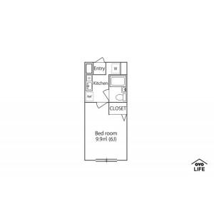 1K Mansion in Fukuei - Ichikawa-shi Floorplan