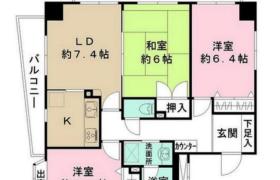 3LDK Mansion in Yoshiicho - Matsudo-shi